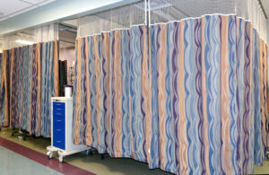 The old curtains. Christus St. Vincent Regional Medical Center