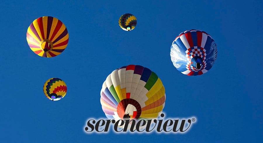 overhead hot air balloon design